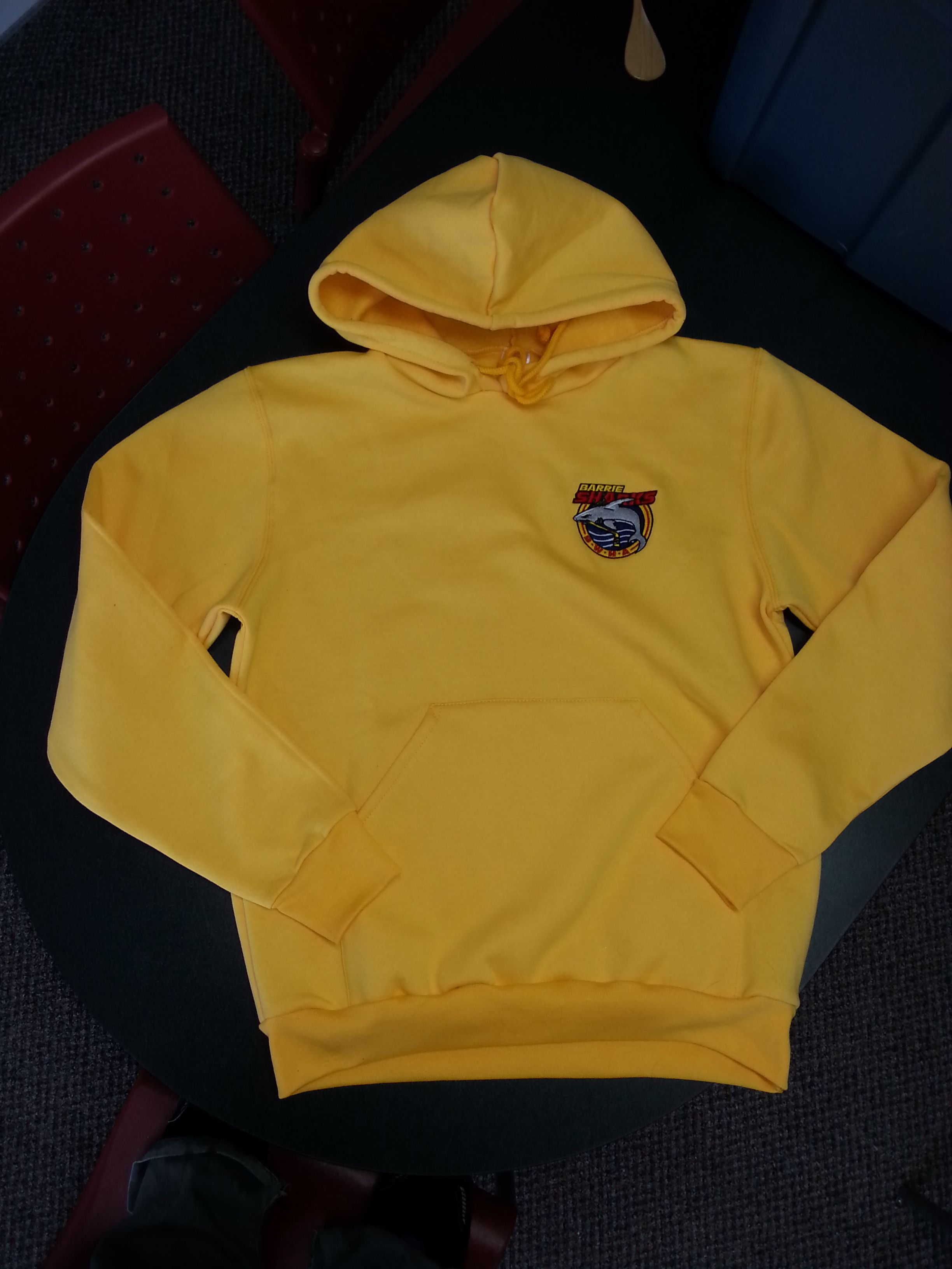 Yellow Hoodie with String Tie